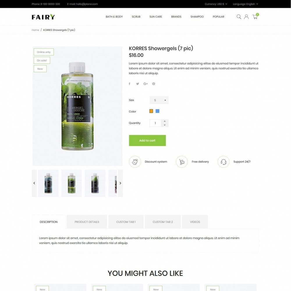 theme - Health & Beauty - Fairy Cosmetics - 6