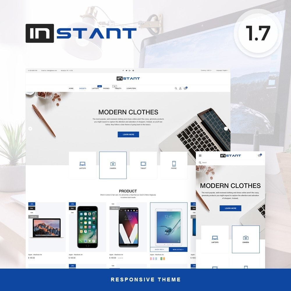 theme - Electronics & Computers - Instant - High-tech Shop - 1