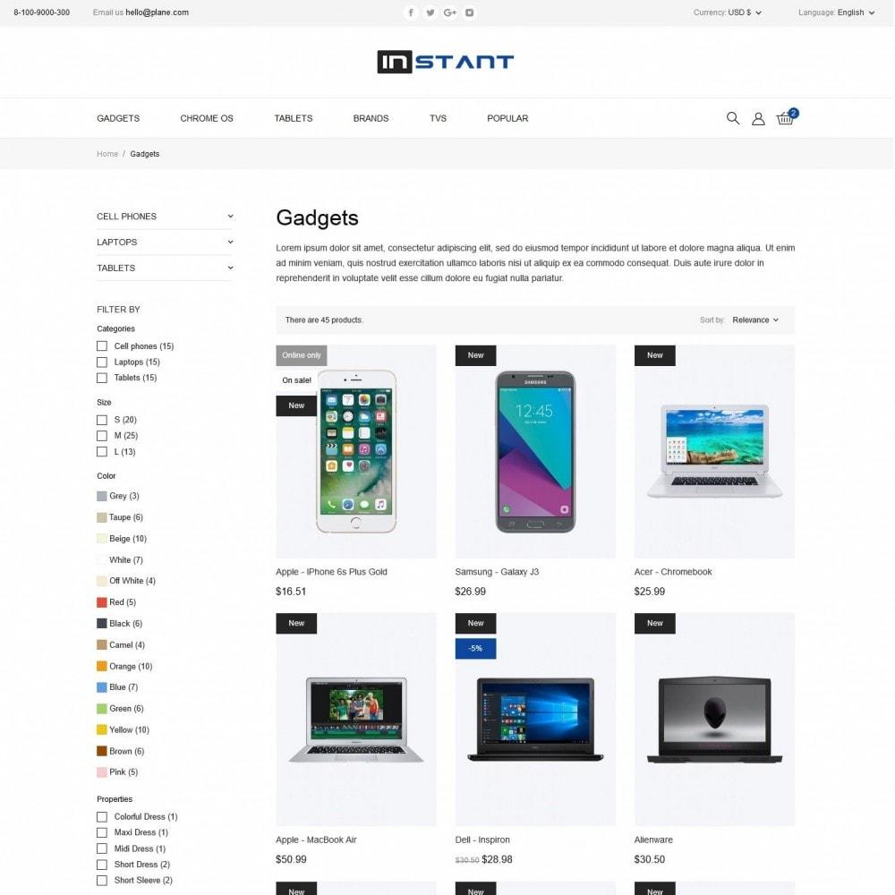 theme - Electronics & Computers - Instant - High-tech Shop - 5