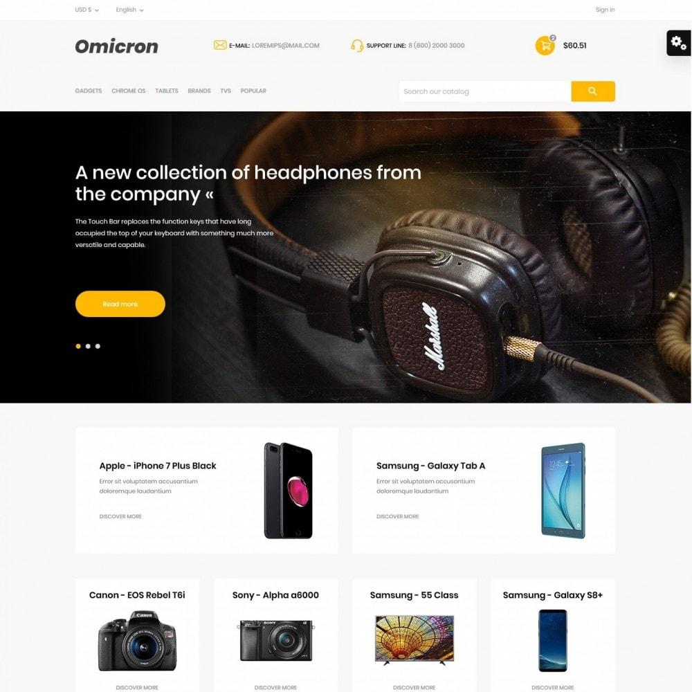 theme - Electronics & Computers - Omicron - High-tech Shop - 2