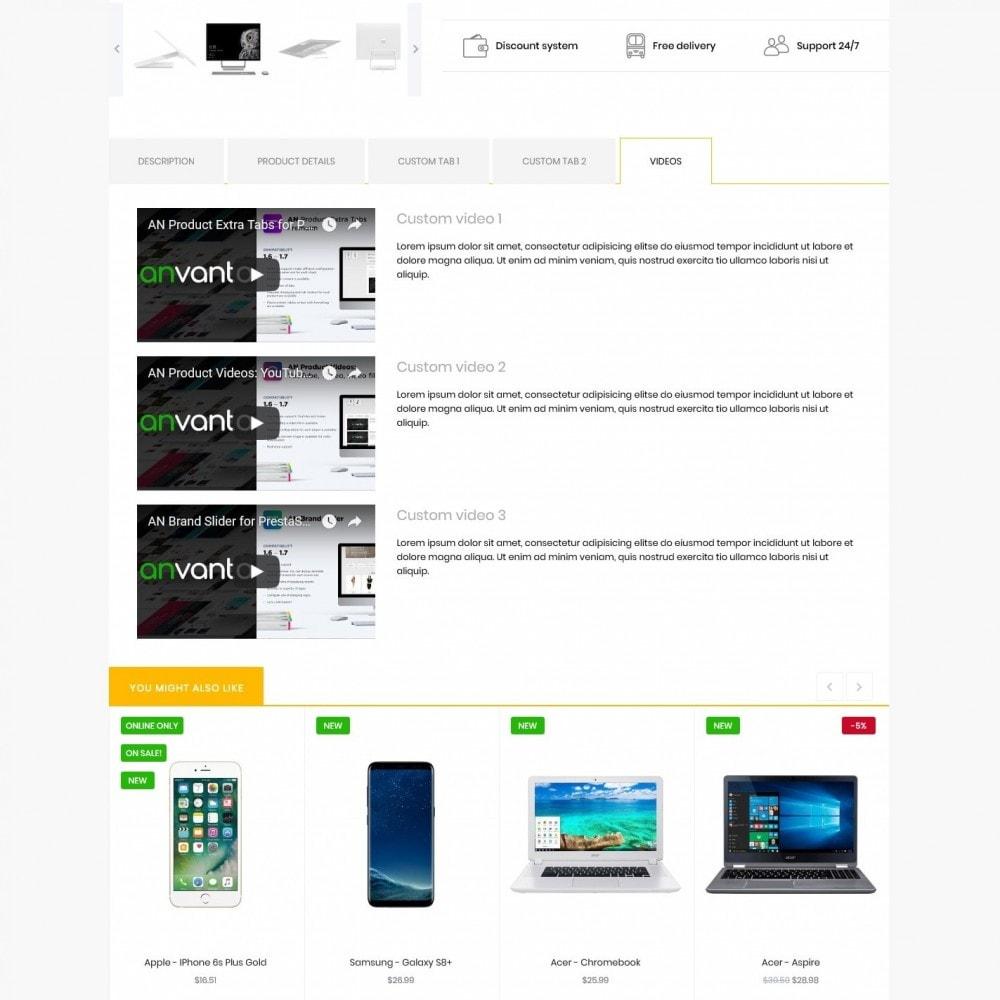 theme - Electronics & Computers - Omicron - High-tech Shop - 9