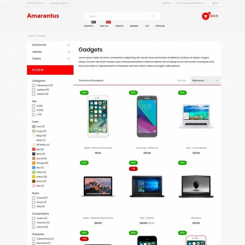 theme - Electronics & Computers - Amarantus - High-tech Shop - 5