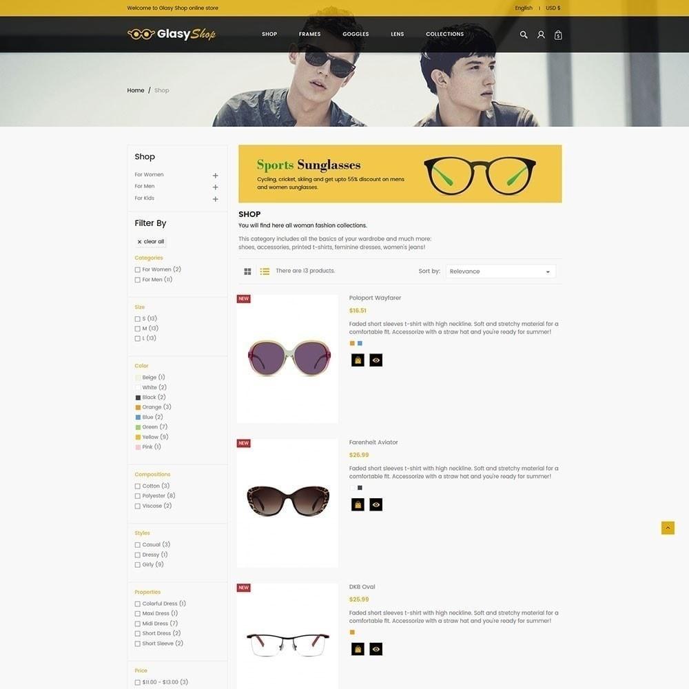 theme - Fashion & Shoes - Sun glass Fashion Store - 3