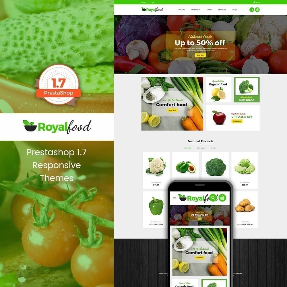 theme - Lebensmittel & Restaurants - Royal Food Store - 1