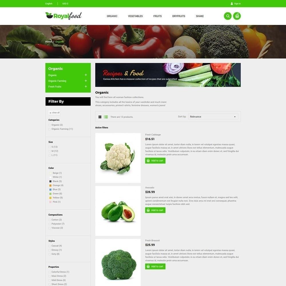 theme - Alimentation & Restauration - Royal Food Store - 4