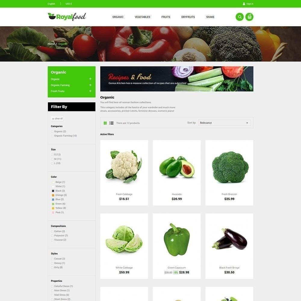 theme - Alimentation & Restauration - Royal Food Store - 5