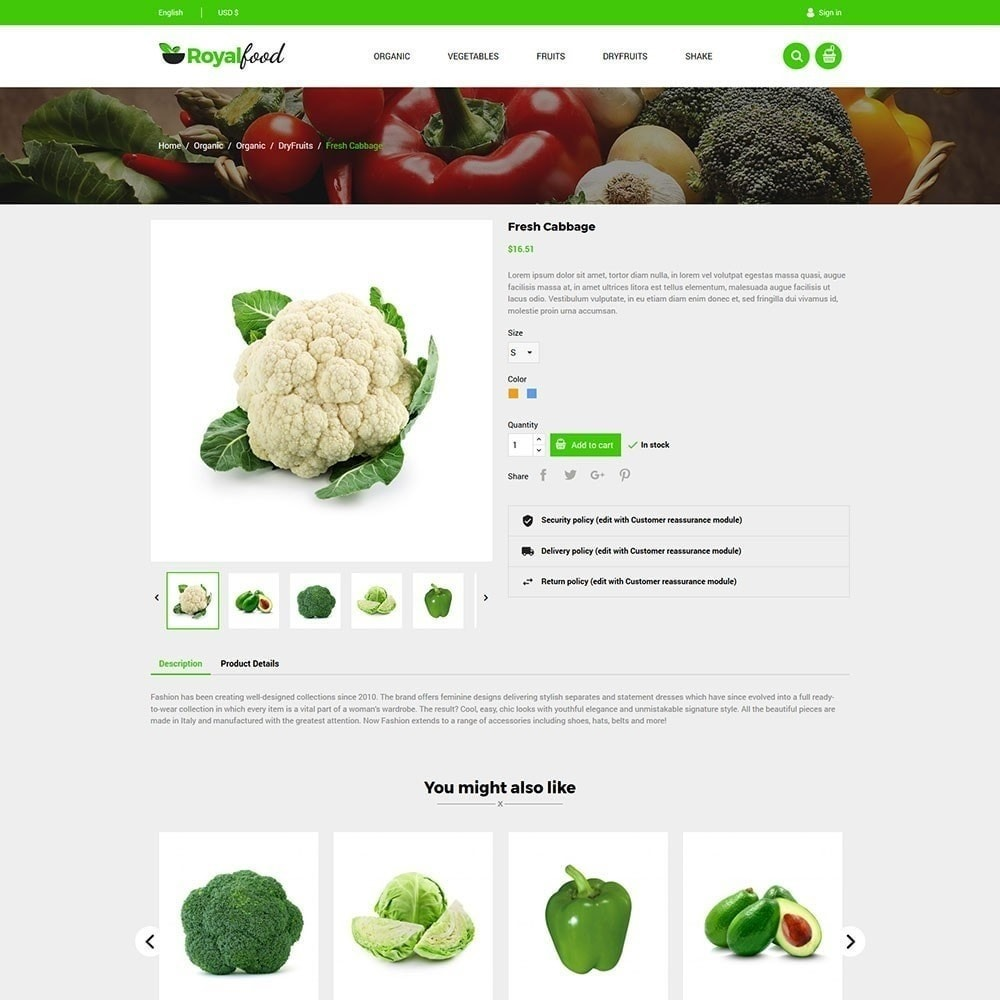 theme - Lebensmittel & Restaurants - Royal Food Store - 4