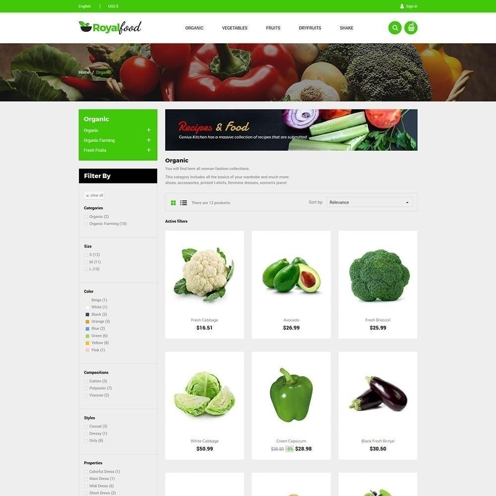 theme - Cibo & Ristorazione - Royal Food Store - 4