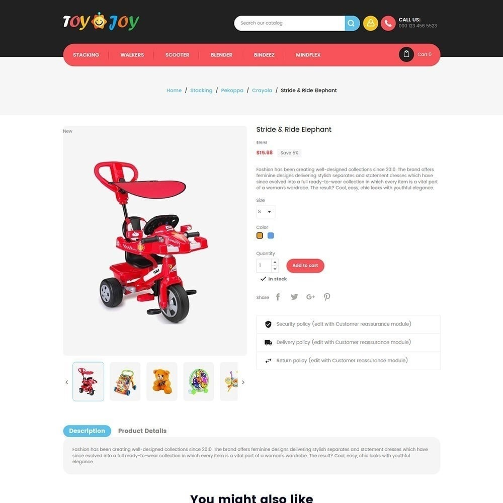 theme - Enfants & Jouets - Toy Joy Kids Store - 4