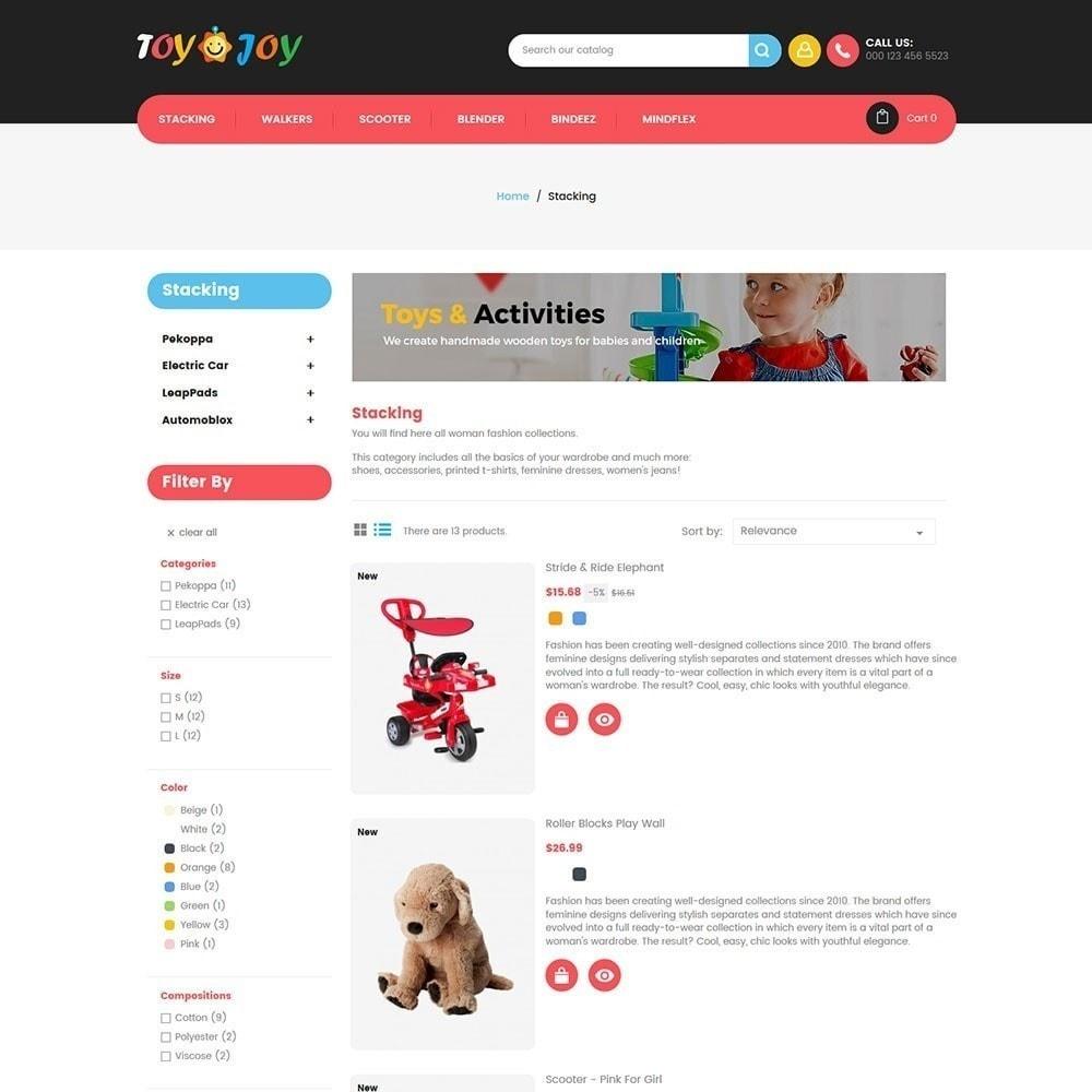 theme - Niños y Juguetes - Tienda de juguetes para niños Joy - 3