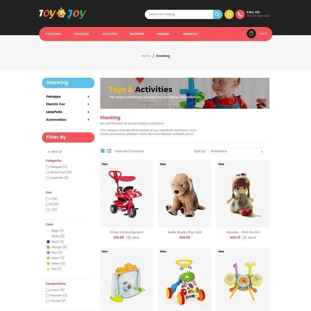 theme - Niños y Juguetes - Tienda de juguetes para niños Joy - 4