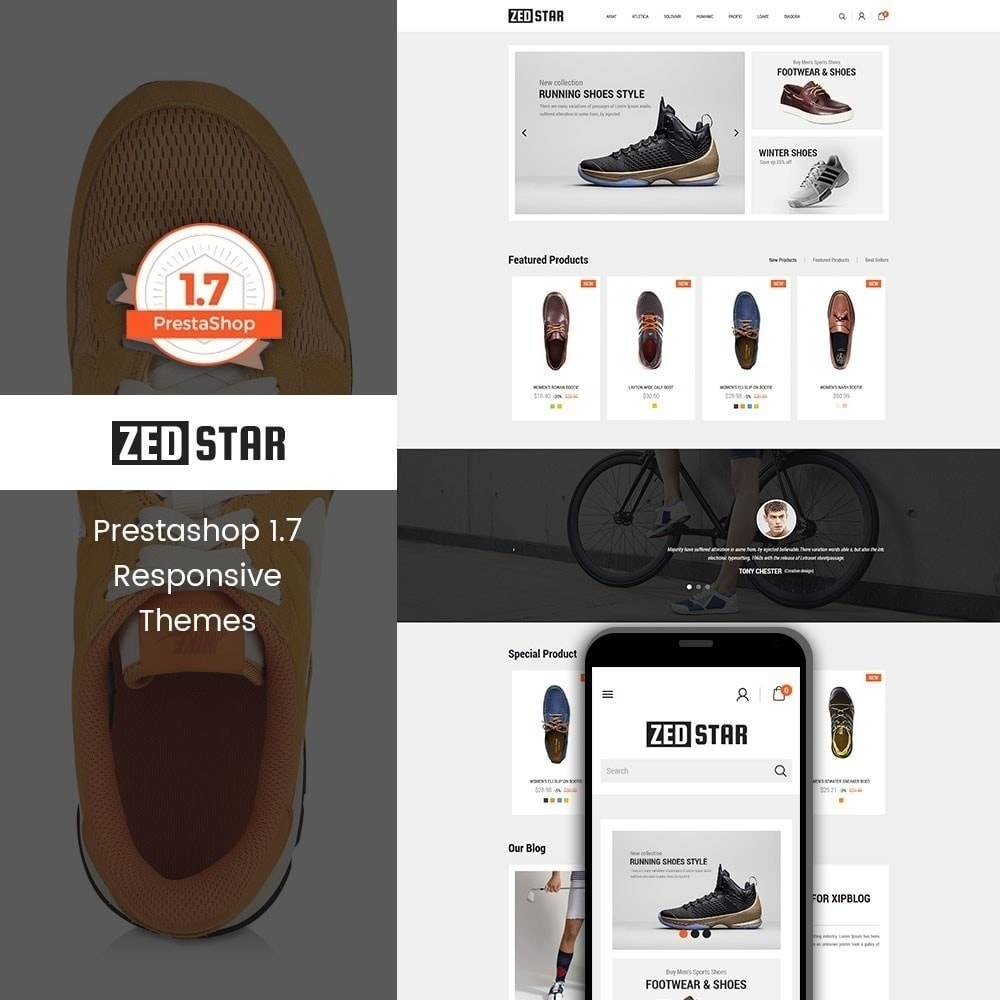 theme - Мода и обувь - Zed Star Fashion - 1