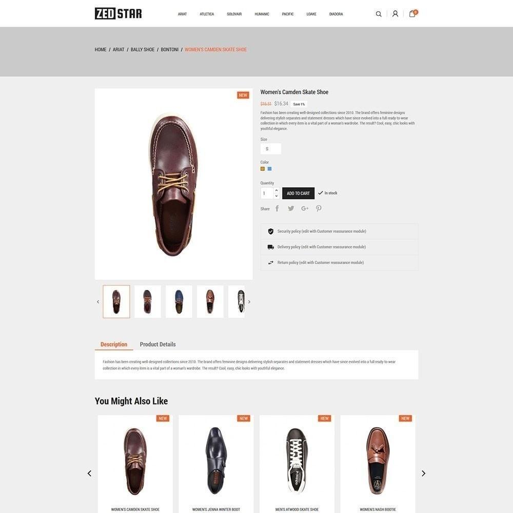 theme - Мода и обувь - Zed Star Fashion - 5