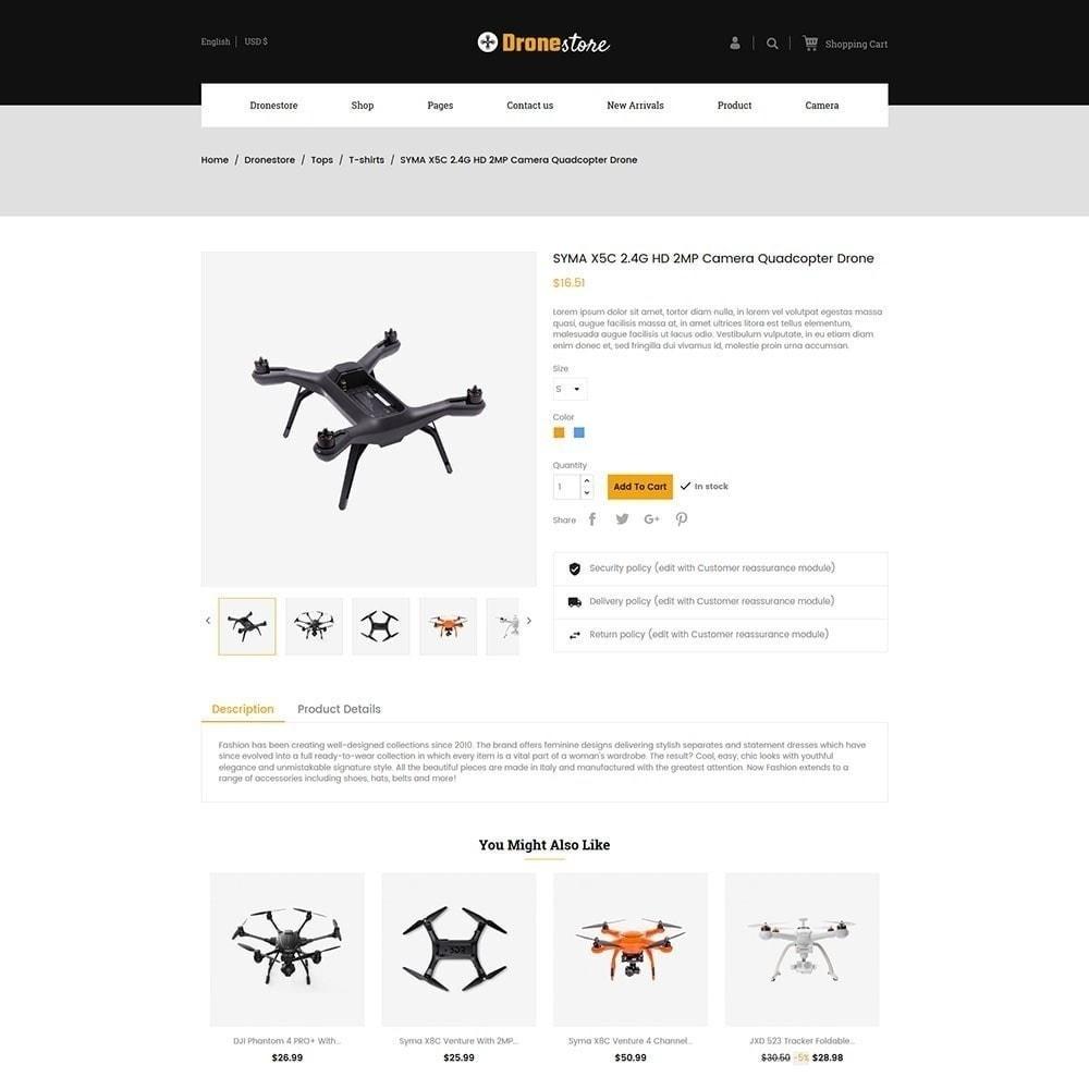 theme - Electronics & Computers - Drone - Digital  Store - 3