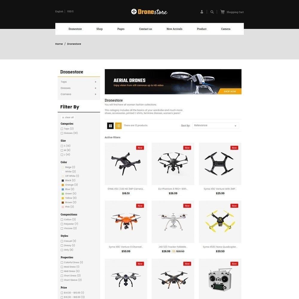 theme - Electrónica e High Tech - Drone - Tienda Digital - 3