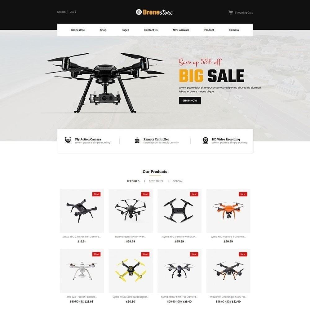 theme - Elektronica & High Tech - Drone - Digital Store - 5