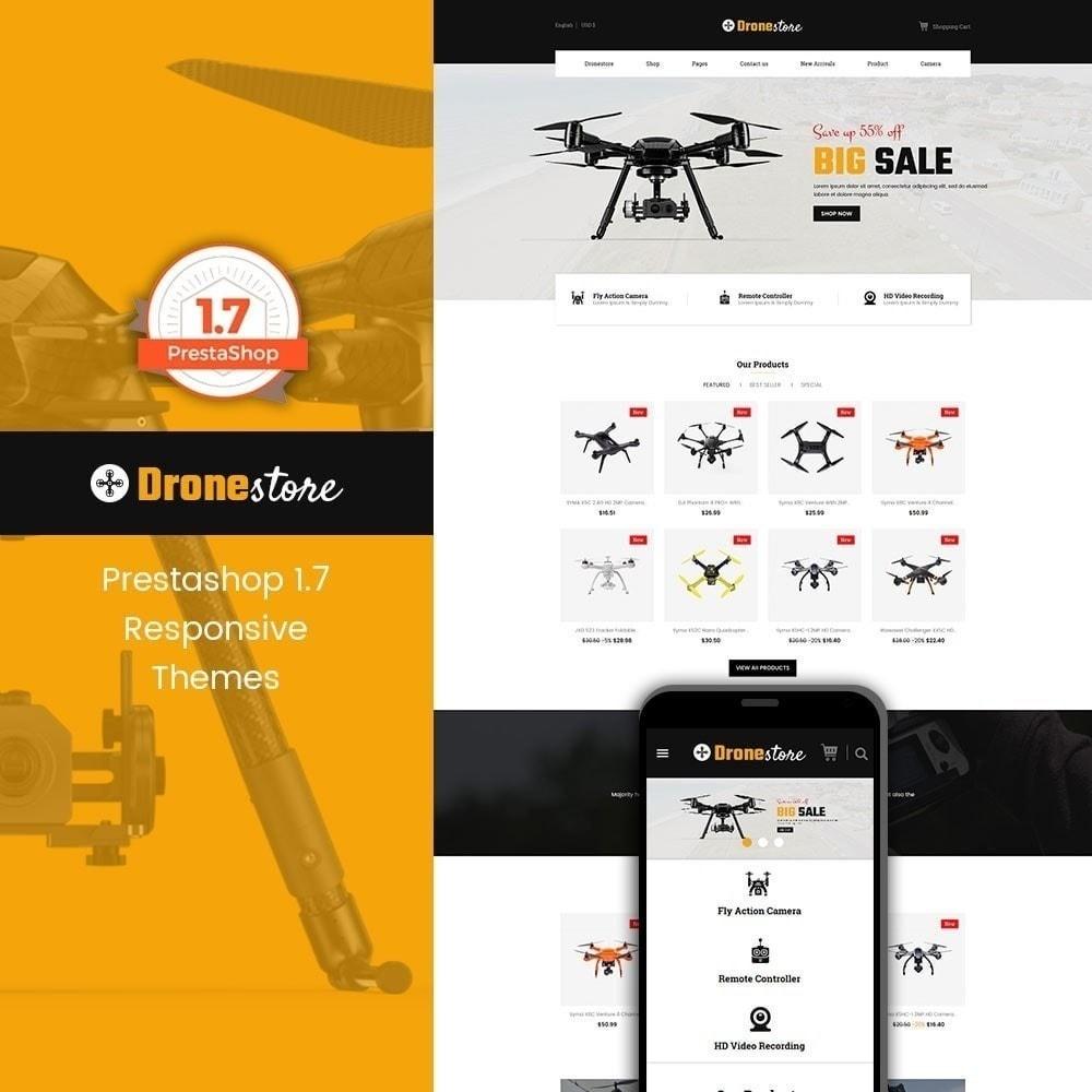 theme - Электроника и компьютеры - Drone - Цифровой магазин - 1