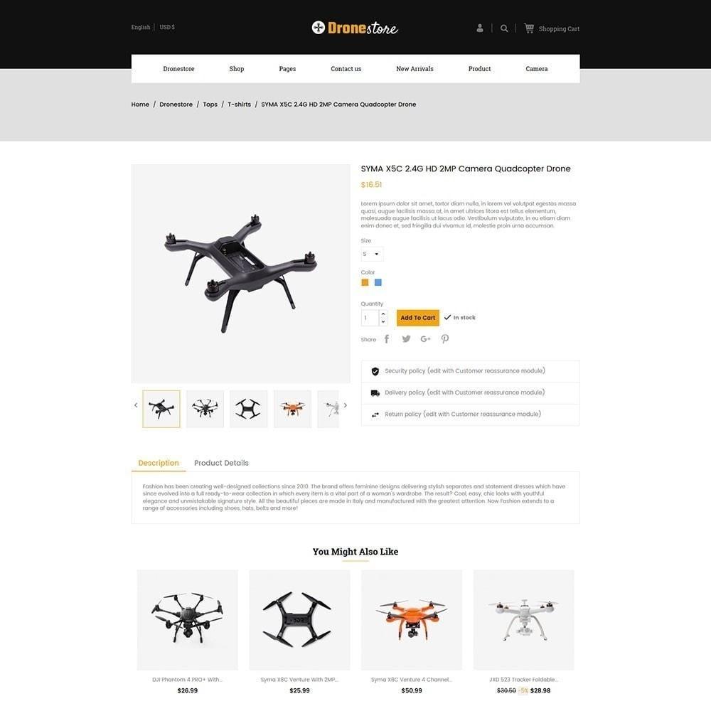 theme - Электроника и компьютеры - Drone - Цифровой магазин - 4