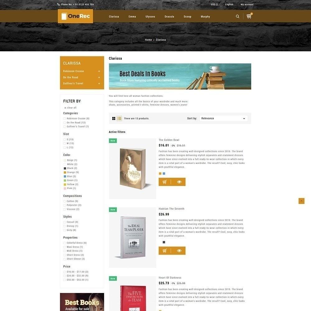 theme - Arte e Cultura - Uma loja de livros Rec - 4