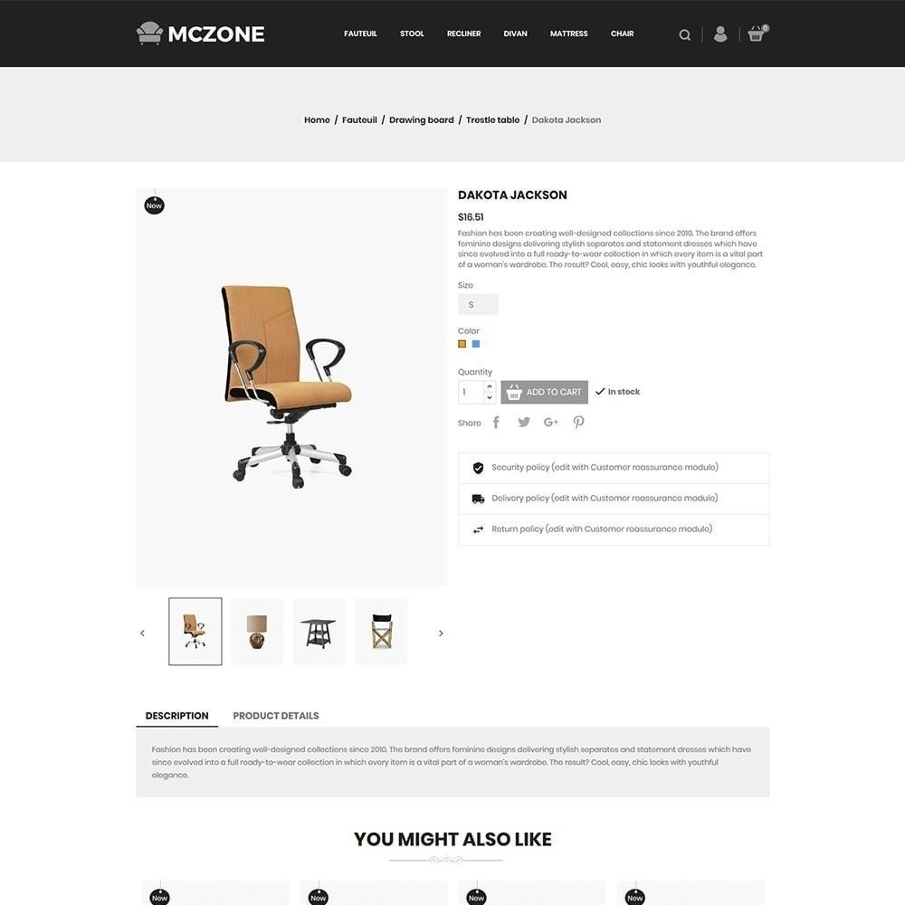 theme - Art & Culture - Magasin de meubles MacZone - 5