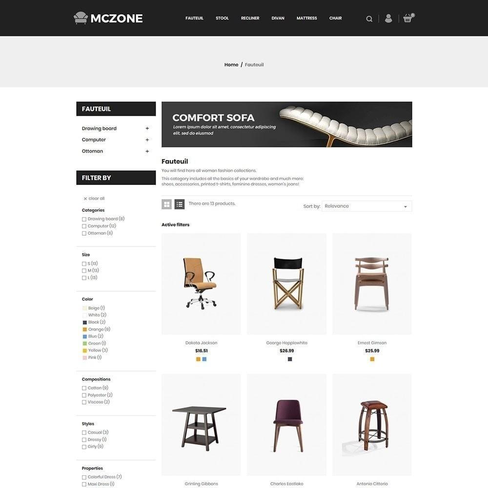 theme - Arte y Cultura - Tienda de muebles MacZone - 2