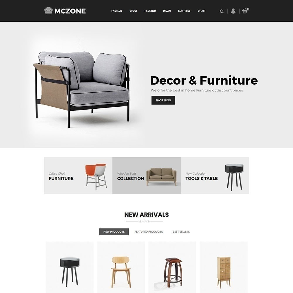 theme - Kunst & Cultuur - MacZone Furniture Store - 3