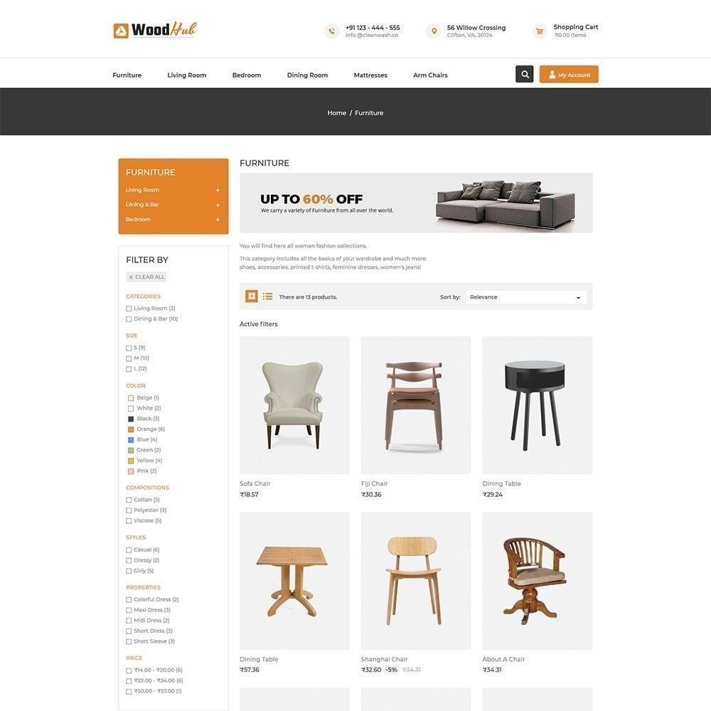 theme - Maison & Jardin - Woodhub Magasin de meubles - 4
