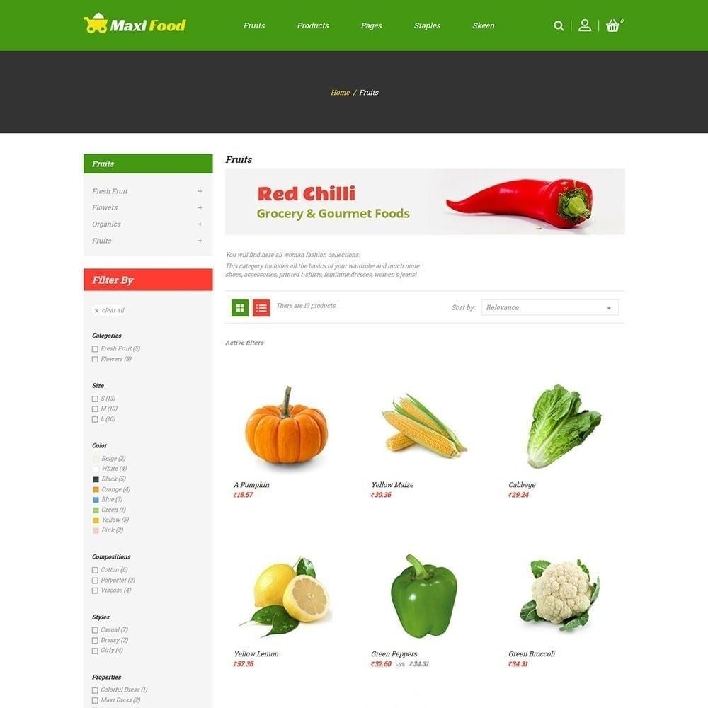 theme - Cibo & Ristorazione - Maxi Food Store - 2