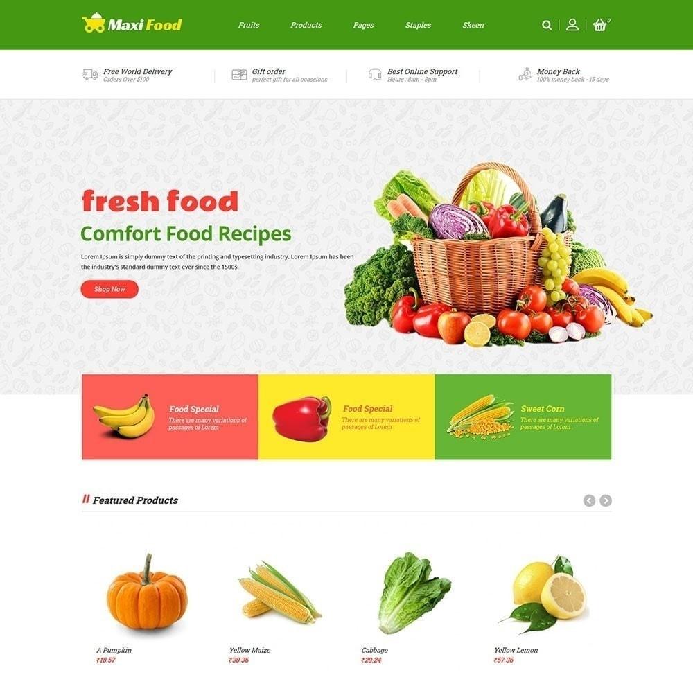 theme - Alimentos & Restaurantes - Loja de comida Maxi - 3