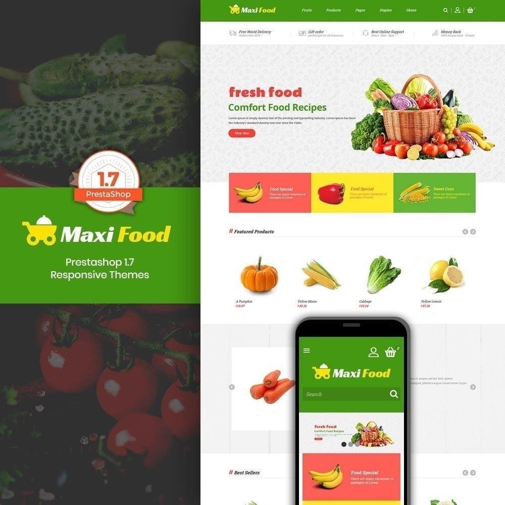 theme - Продовольствие и рестораны - Продовольственный магазин Maxi - 1