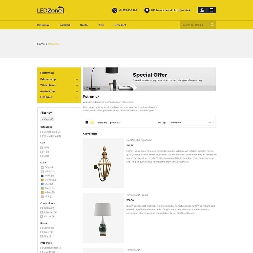theme - Heim & Garten - Ledzone Leuchtturm - 3