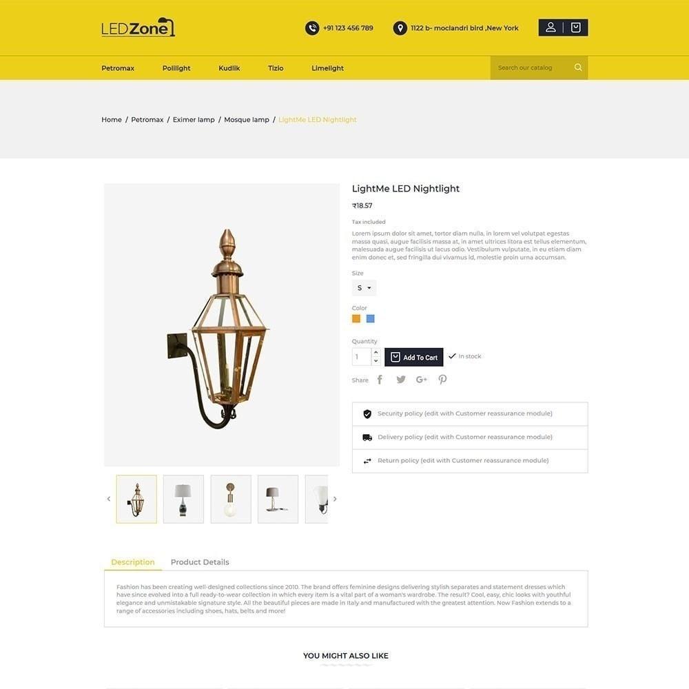 theme - Heim & Garten - Ledzone Leuchtturm - 4