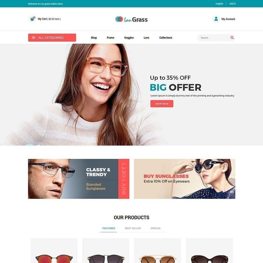 theme - Мода и обувь - Магазин одежды Lan Grass - 3