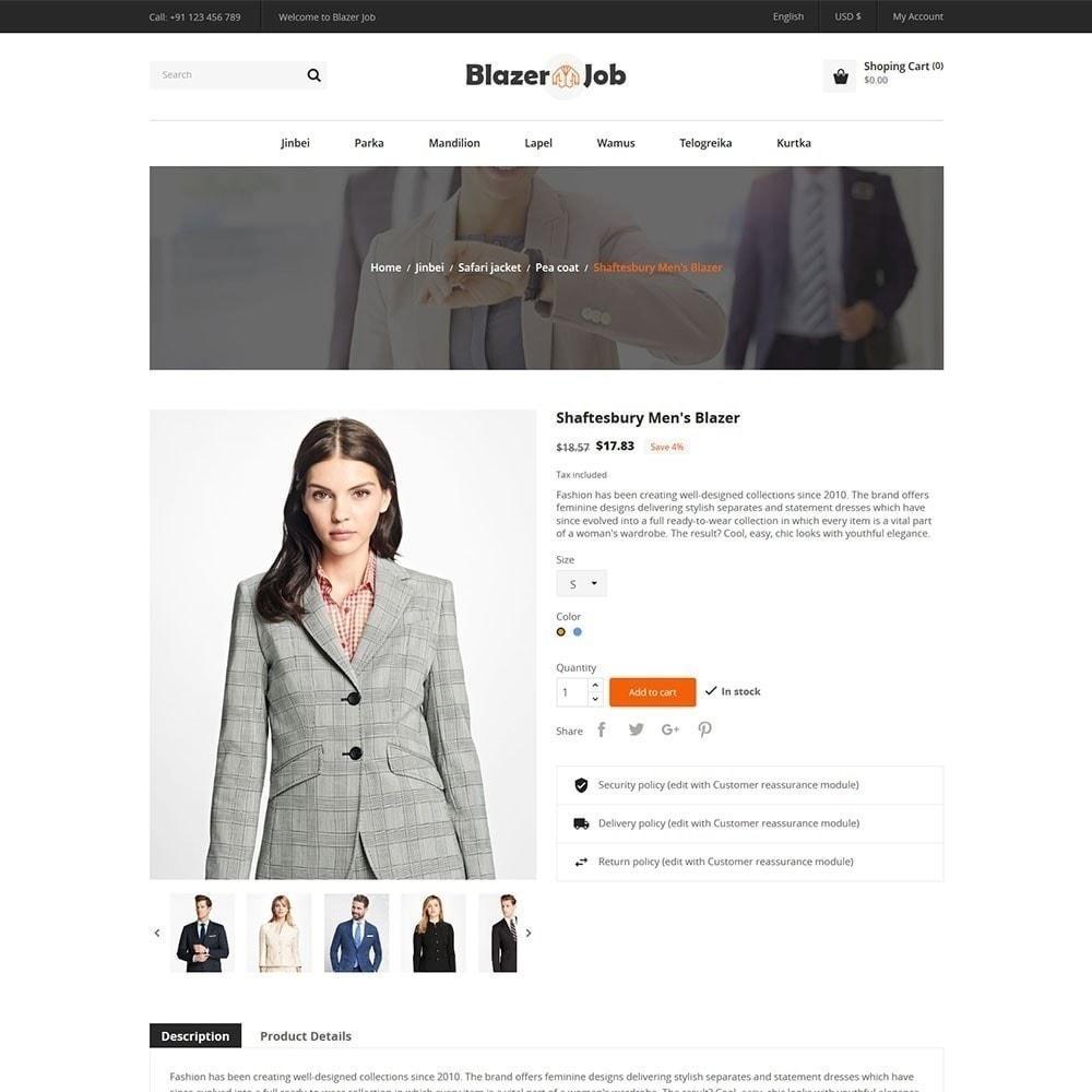 theme - Mode & Schuhe - Blazerjob Fashion Store - 5