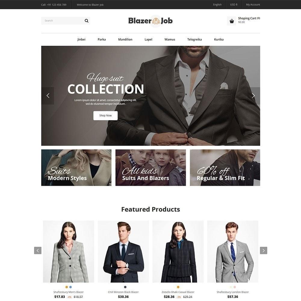 theme - Мода и обувь - Магазин одежды Blazerjob - 2