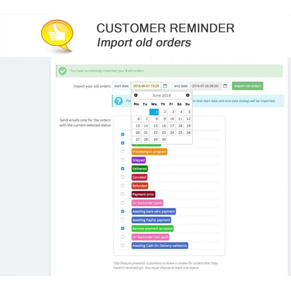 module - Comentarios de clientes - Shop Reviews + Avatars + Reminder + Rich Snippets - 16