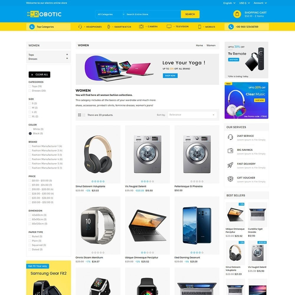 theme - Electronique & High Tech - Robotic Electronics Store - 5
