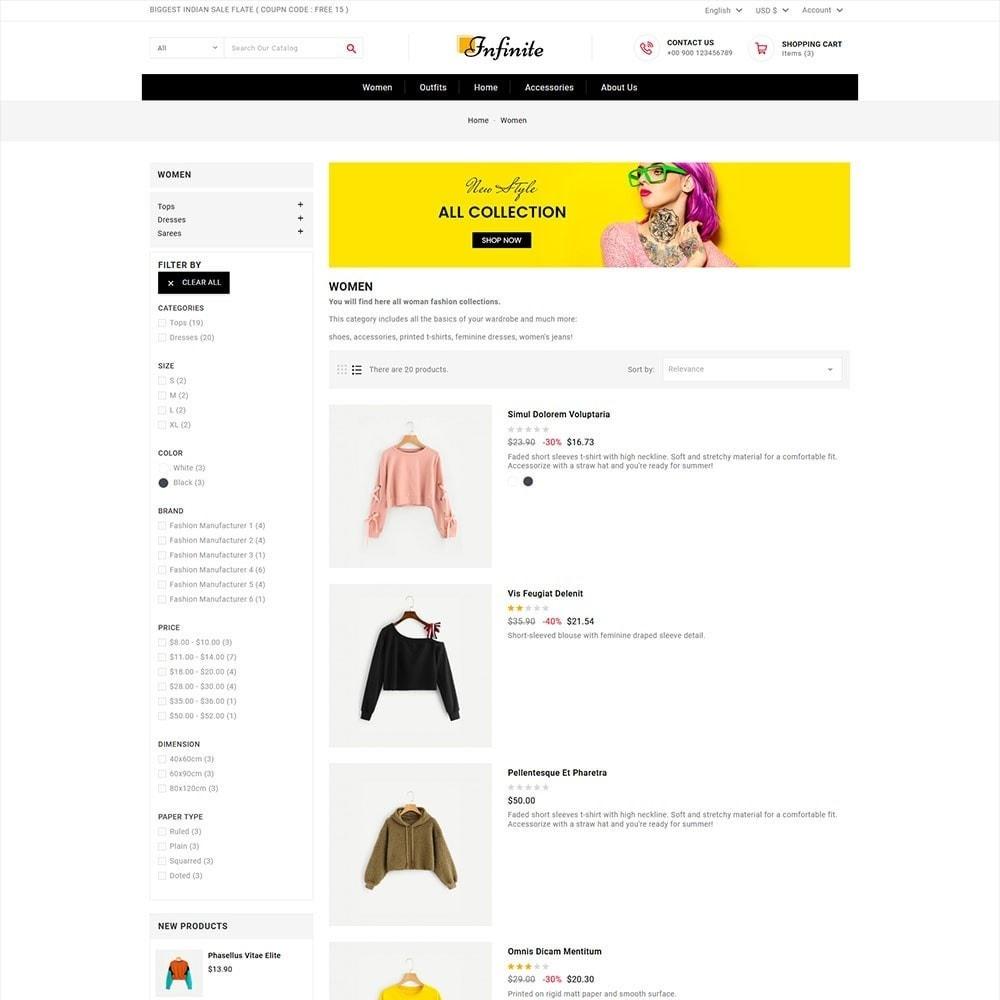 theme - Mode & Chaussures - Infinite Fashion Store - 4