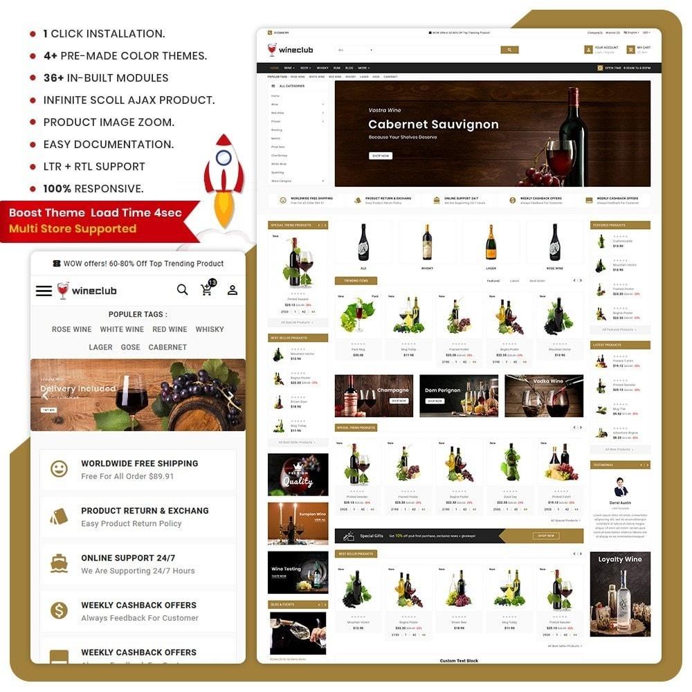 theme - Drink & Wine - Vino - Wine Big Store - 1