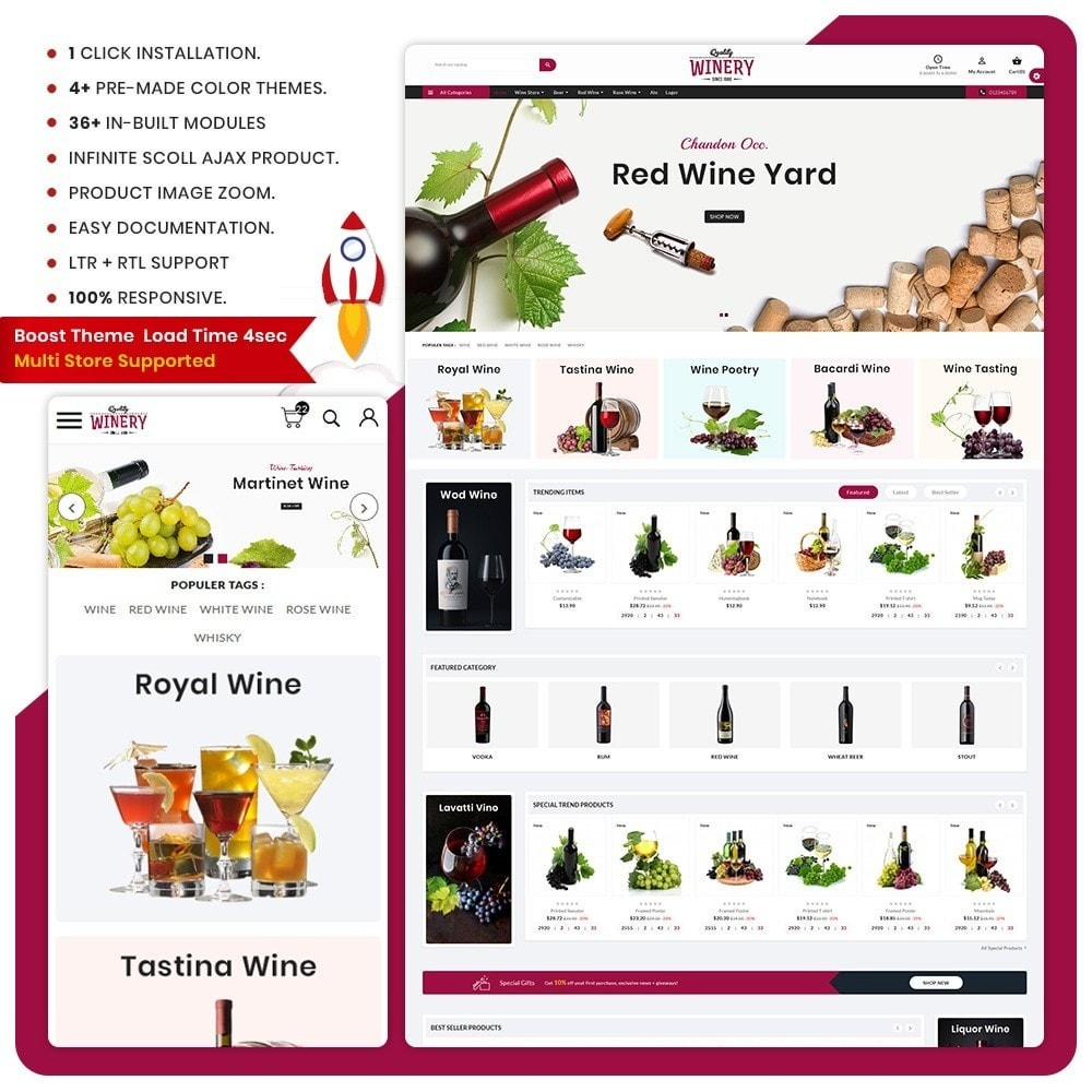 theme - Boissons & Tabac - Wein - The Wine Shop - 1