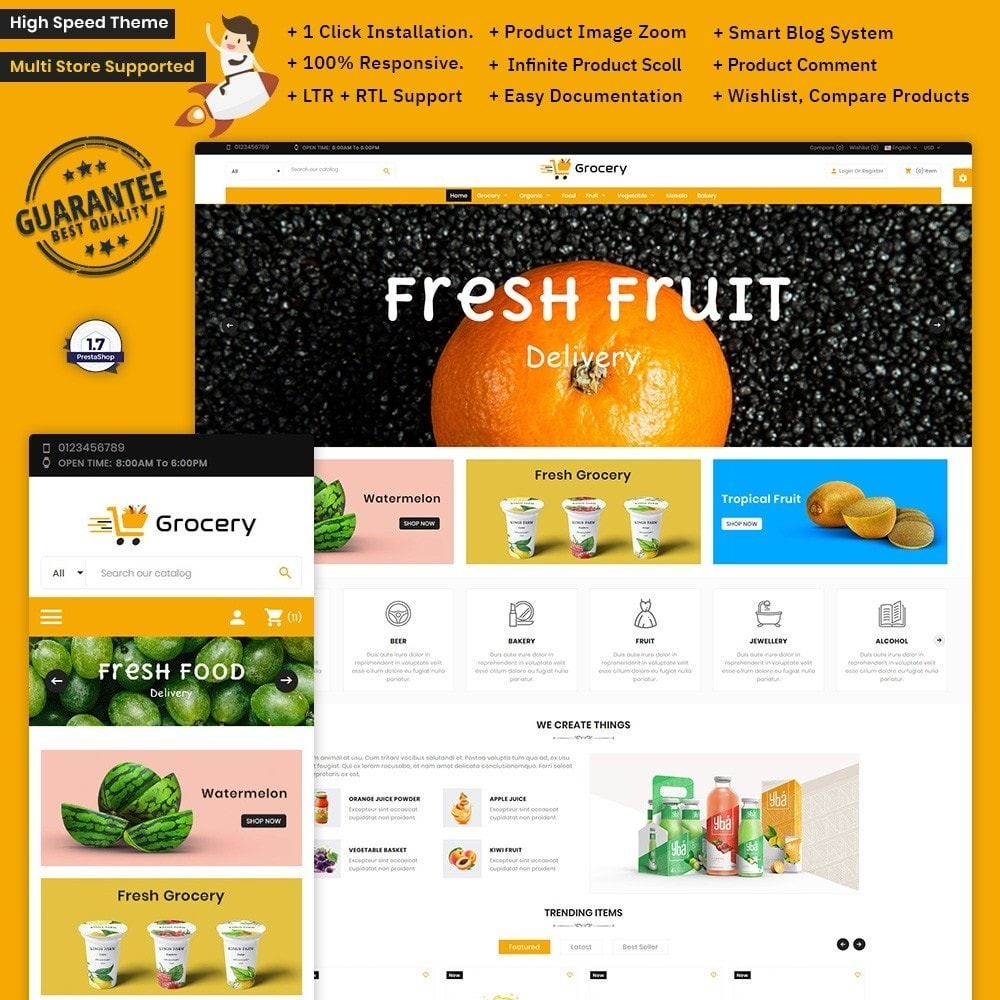 theme - Food & Restaurant - Grocery  – The Grocery Big Mall - 2