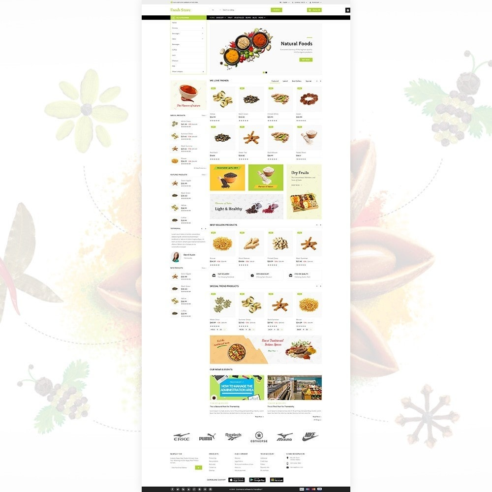 theme - Lebensmittel & Restaurants - Fresh Store The Grocery Shop - 3