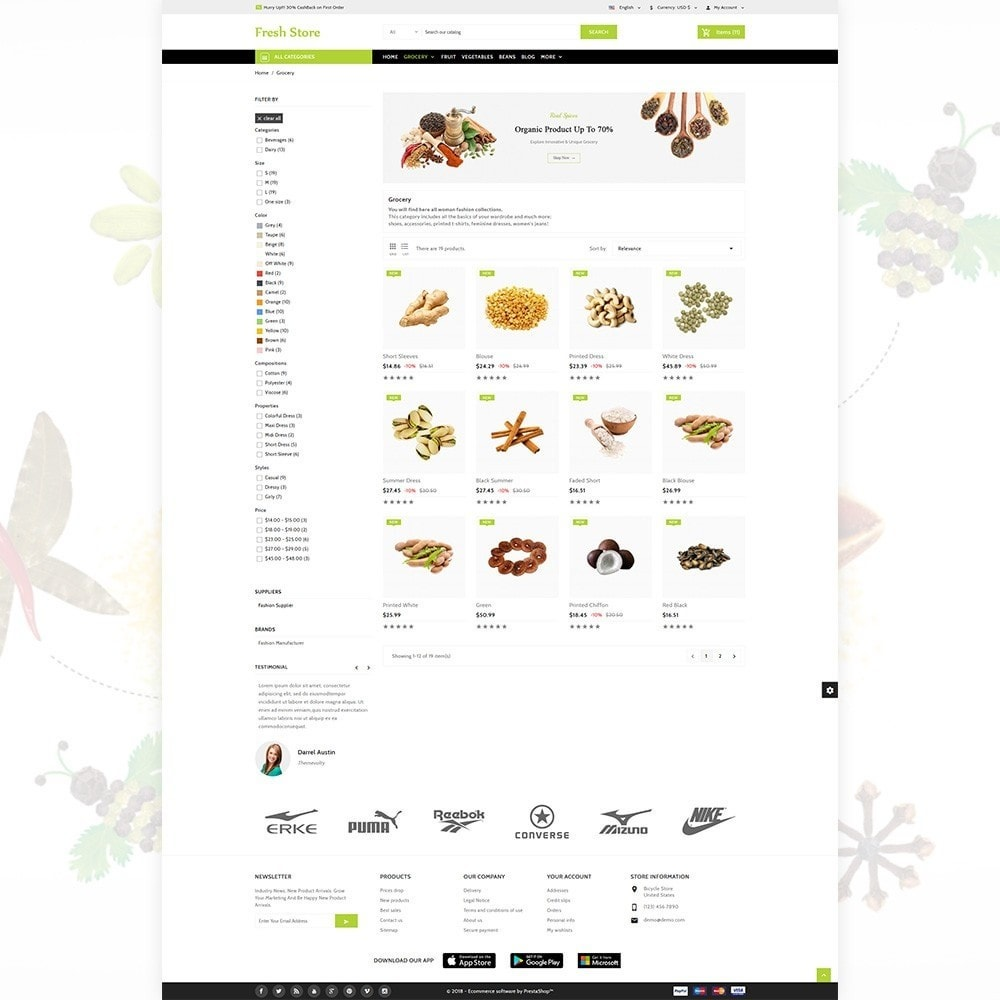 theme - Lebensmittel & Restaurants - Fresh Store The Grocery Shop - 4