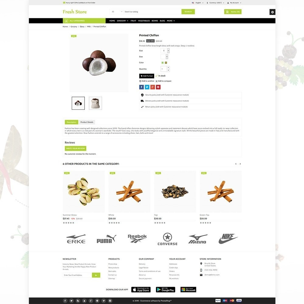 theme - Lebensmittel & Restaurants - Fresh Store The Grocery Shop - 6