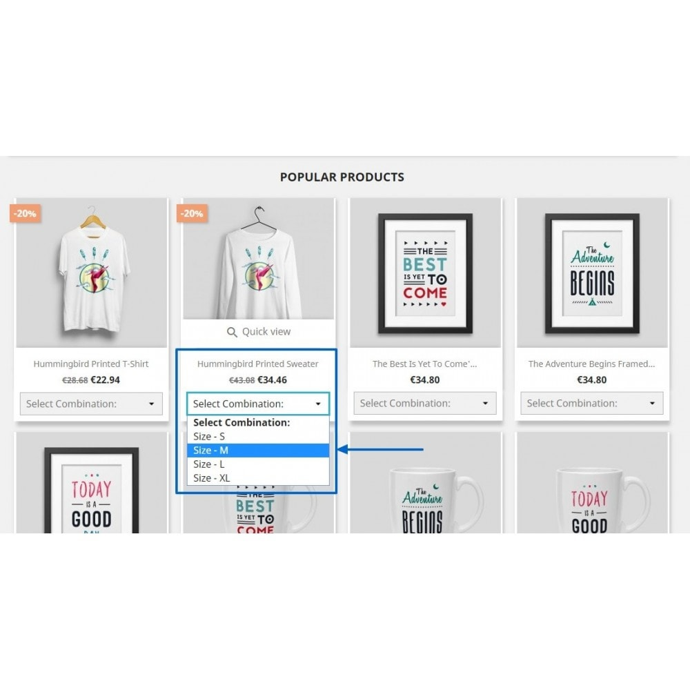 module - Bundels & Personalisierung - Show Product Combination - 5