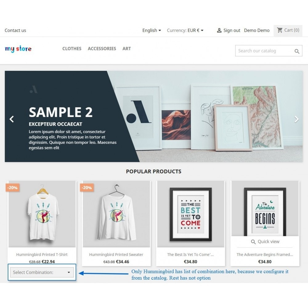 module - Bundels & Personalisierung - Show Product Combination - 16