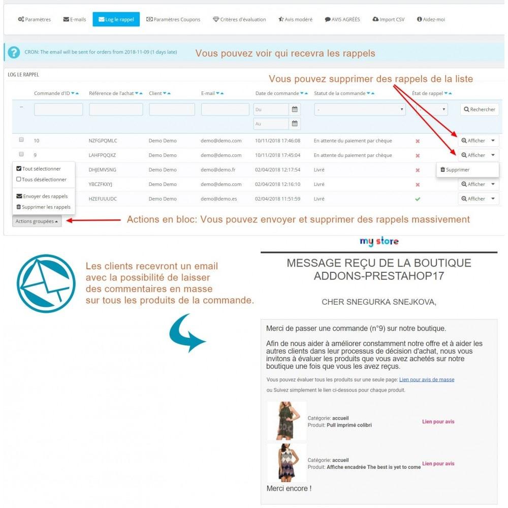 module - Avis clients - Commentaires avancés avec photos + Google rich snippets - 11