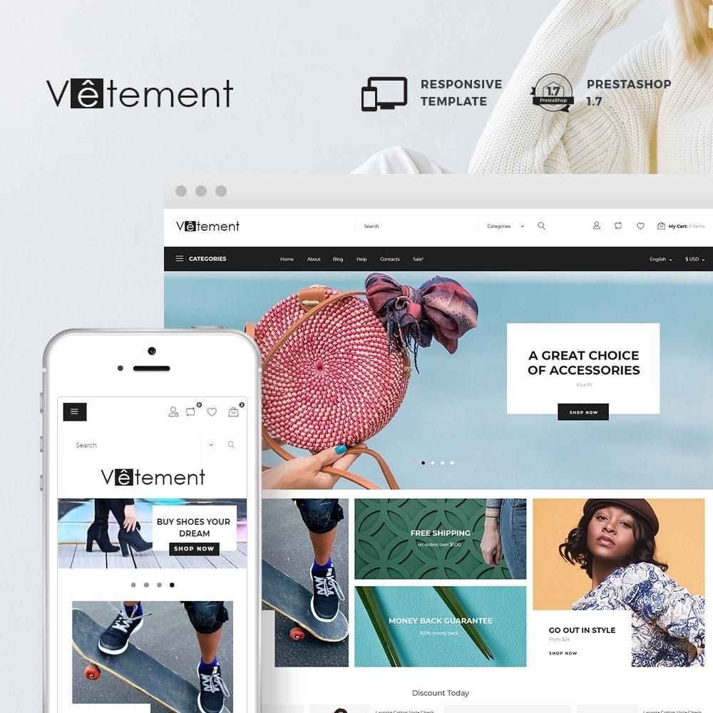 theme - Mode & Chaussures - Vêtement - Apparel Store - 1