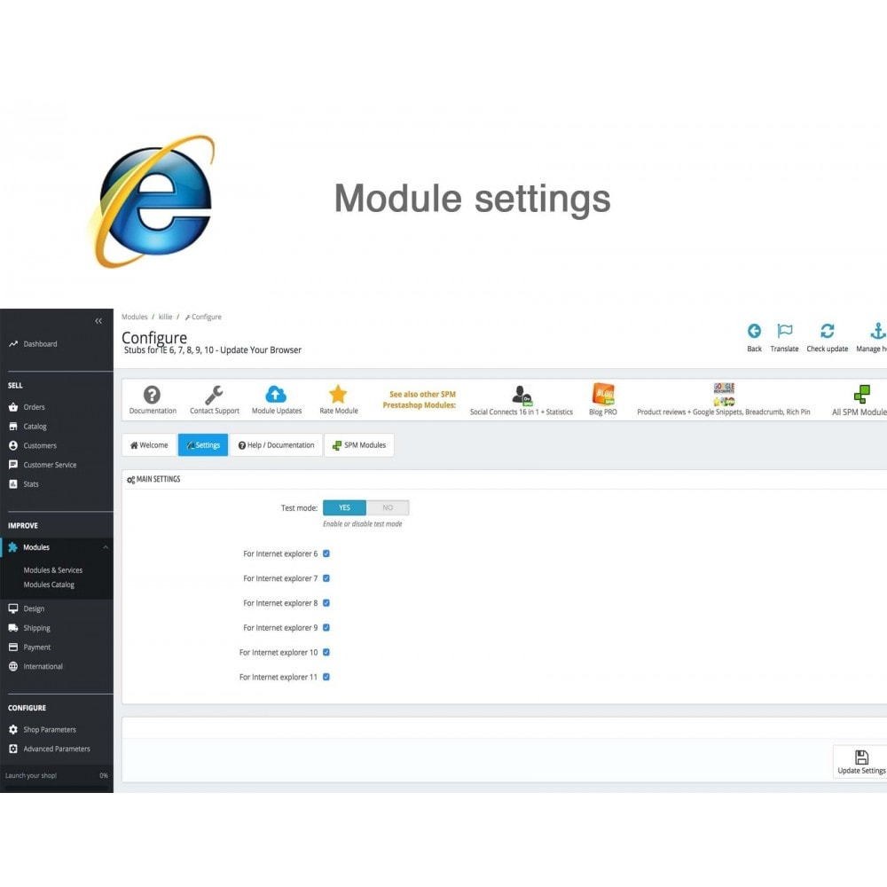 module - Migratie & Backup - Stubs for IE 6,7,8,9,10 - Update Your Browser - 4