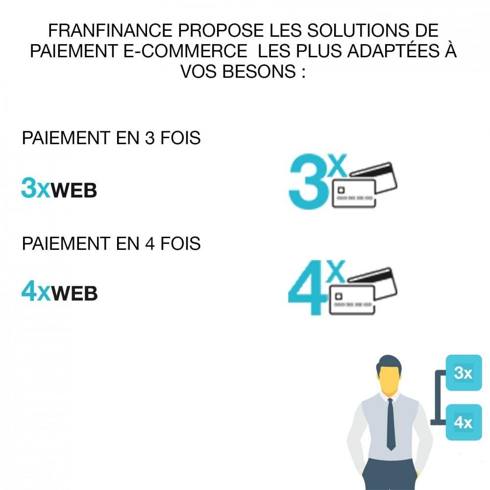 module - Paiement par Carte ou Wallet - Solutions de Paiement avec Franfinance - 2